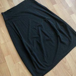 EILEEN FISHER Super Soft Classy Long Skirt